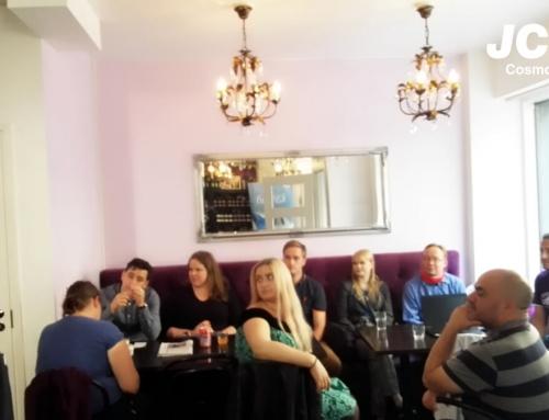 Learning fun and useful phrases in JCI Cosmopolis Language Café